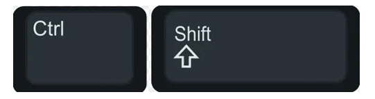typing direction
