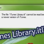 How to Fix The file iTunes Library.itl Cannot Be Read Error
