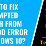 Fix Attempted Switch from DPC Windows 10, 7, 8